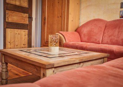 Wohnzimmer der Ferienwohnung Stephanides in Lemgo