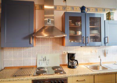 Küche der Ferienwohnung Stephanides in Lemgo