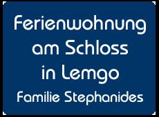 Stephanides Ferienwohnung in Lemgo